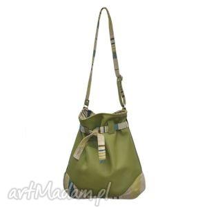 a6bdbedb4e590 ... 25-0004 duża zielona torebka worek do szkoły lub na studia sparrow