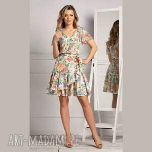 sukienka nuri mini chantal, letnia sukienka, mini, pastele