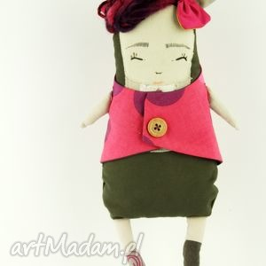 lalki mira - lalka / przytulanka hand made, zabawka, lalka, misiek, prezent
