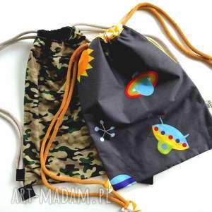 prezent na święta, worek-plecak z haftem, worko plecak, do przedszkola, żłobka