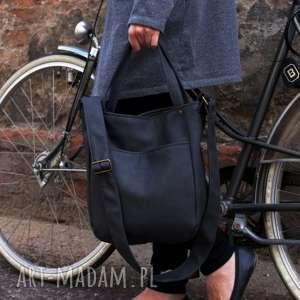 Miniks vege grafit na ramię manufakturamms torebka, torba, rower