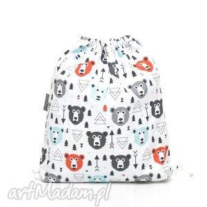 handmade dla dziecka plecak worek przedszkolaka misie