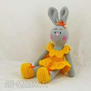 króliczka słoneczna, maskotka, króliczka, zabawka, prezent, dekoracja