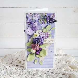 hand made scrapbooking kartki kartka urodzinowa/imieninowa, 543