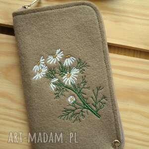 filcowe etui na telefon - polne kwiaty, smartfon, pokrowiec, etui, motyw