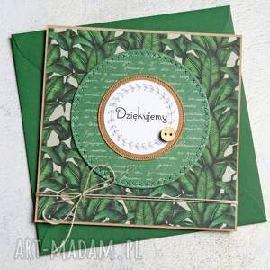 ręczne wykonanie kartki dziękujemy: kartka handmade:: podziękowanie