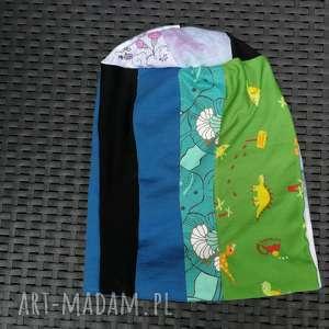 ręcznie wykonane czapki czapka damska ciepła patchwork boho handmade
