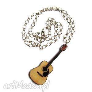 Duży naszyjnik gitara klasyczna naszyjniki theresa ursulas