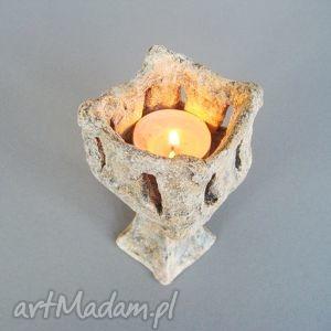 """Świecznik """"Kielich"""" , świecznik, wnętrze, dekoracja,"""
