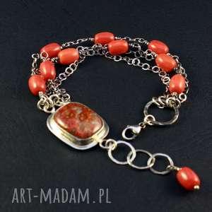 wyjątkowy prezent, agat i zapach orientu, marokański, koral, koral czerwony