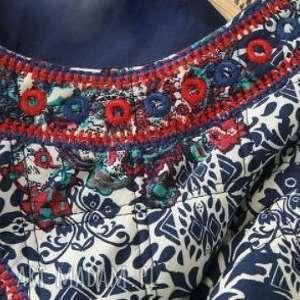 kurtka kubraczek haftowany - kurtka, kubrak, etno, haftowana, bluza, prezent