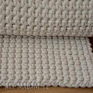 dywan ze sznurka bawełnianego dwustronny 90 cm x 130 cm, dywan