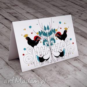 ręcznie wykonane kartki wielkanocna karteczka