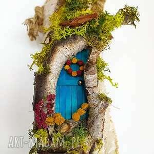 wieszak na klucze w stylu skandynawskim die magische tür - dekoracja ścienna
