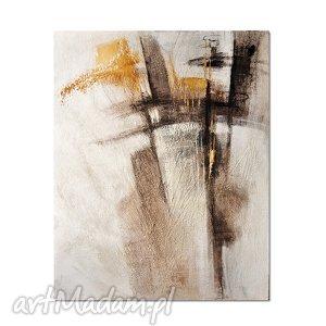abstrakcja rbb1, nowoczesny obraz ręcznie malowany - abstrakcja, obraz, nowoczesny