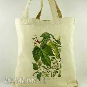 na ramię torba chmiel - płócienna, prezent, dzień, matki, zakupy, nadruk