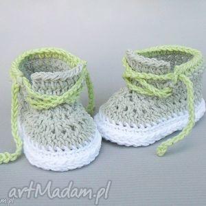 ręcznie robione buciki trampki carleton