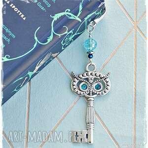hand-made prezenty świąteczne sowa klucznik - elegancka zakładka