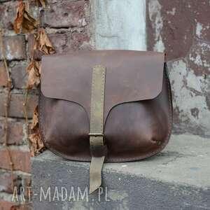torebka damska skórzana ręcznie robiona, torebka, skórzana, mała