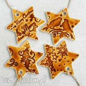 Pomysł na prezent świąteczny! Miodowe zawieszki ceramika