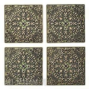 ręczne wykonanie ceramika dekory grave zielone do zawieszenia