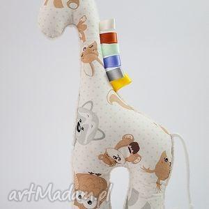 oryginalny prezent, maskotki żyrafka misiaki szary, żyrafka, przytulanka