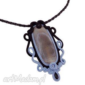 handmade naszyjniki ~mela stone~ naszyjnik wisior sutasz idion agat