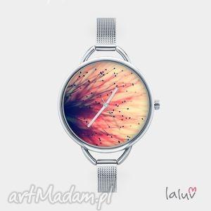 Prezent Zegarek z grafiką PRĘCIKI, bransoleta, kwiaty, czas, prezent, wiosna