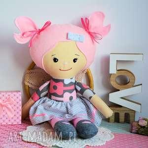 ręczne wykonanie lalki lalka rojberka - słodki łobuziak ewelinka 50