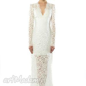Iris - koronkowa suknia ślubna, koronkowa, wieczorowa, ślubna