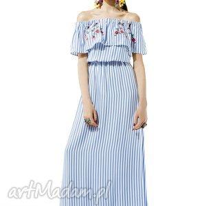 kasia miciak design sukienka z falbaną amore, sukienka, falbana, kobieca, romantyczna