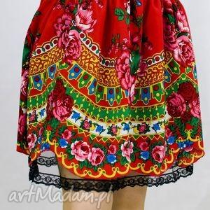 spódnica ludowa, słowianka czerwona, spódnica, folk, słowianka