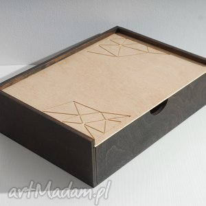 Skrzynka geometria, na dokumenty, biurko, skrzynka, geometryczny, geometryczna