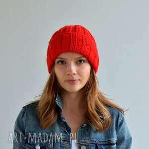 ciepłą czapka, ciepłaczapka, na drutach, nagłowę, naprezent