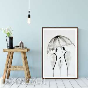 obraz ręcznie malowany 42 x 60 cm, abstrakcja, minimalizm, minimalizm