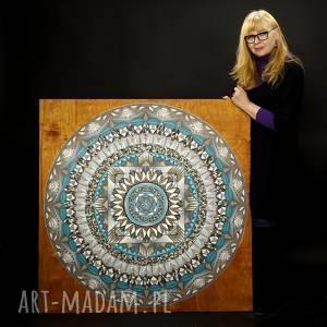 Mandala I, symetria, medytacja, mandala, kolory