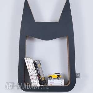 Półka na książki zabawki HERO ecoono | czarny, półka, chłopiec, dziewczynka