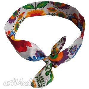 opaska folkowa - kaszubskie wzory, kaszubskie, folkowe, ludowe, pamiątki, opaski