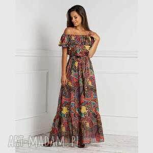 sukienki sukienka latina maxi indira