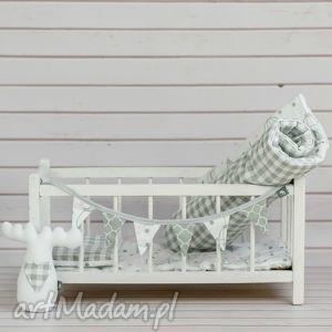 Pościel dla lalki - 4 częściowa pokoik dziecka looli lalka