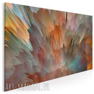 obraz na płótnie - abstrakcja nowoczesny art 120x80 cm 84001