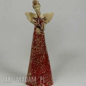 ręcznie zrobione ceramika anioł ceramiczny