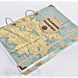 Prezent Twój Planner Podróży / Album i pamiętnik podróży, planner-podróży,