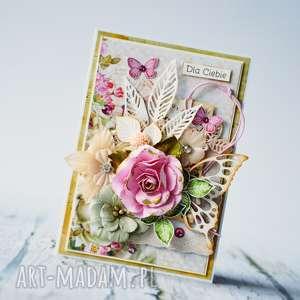 hand-made scrapbooking kartki dla ciebie - ręcznie robiona kartka