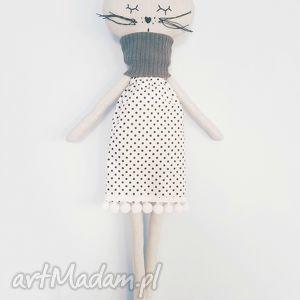 kotek tilda maskotka - ,lalka,kot,kotek,skandynawski,skandynawska,czarna,