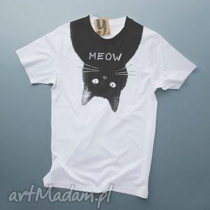MEOW koszulka z kotem, kot, nadruk