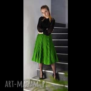 kolor do wyboru - spódnica z warkoczami, spódnica, dzianinowa, warkocze, jesienna