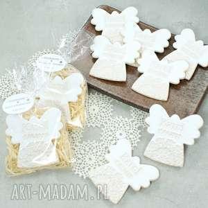 hand made dla dziecka personalizowane aniołki - upominki gości