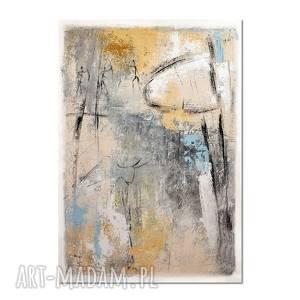 Grot 6, abstrakcja, nowoczesny obraz ręcznie malowany,