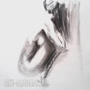 woman , grafika-kobieta, czarno-biała-grafika, obraz-kobieta, rysunek-węglem-akt